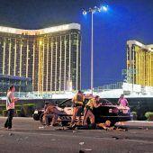 Todesschütze stürzt Las Vegas in Trauer