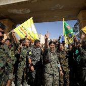 IS verliert inoffizielle Hauptstadt Al-Rakka