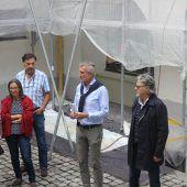 Planer gewährten Einblick in Palais-Liechtenstein-Umbauarbeiten