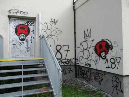 Sudeleien an Bludenzer Schule. Polizeien