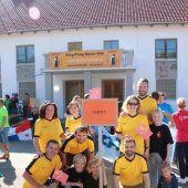 Oberschorbacher Narren luden zur Ping-Pong-Gaudi
