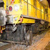 Güterwaggons entgleist