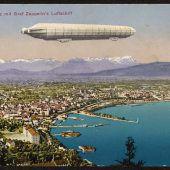 Vorarlberg im Bann des Zeppelins
