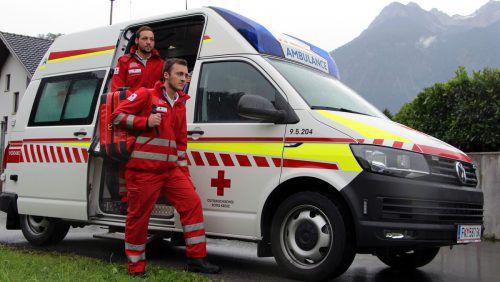 Zivildiener werden beim RK Vorarlberg hauptsächlich im Bereich Rettungs- und Krankentransport eingesetzt. RK