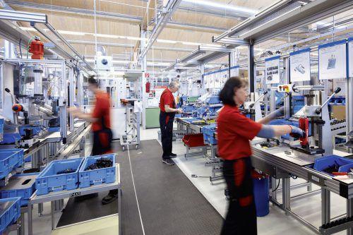 Die Hilti Gruppe beliefert die Bauwirtschaft mit technologisch führenden Produkten, viele aus dem Werk Thüringen. Firma