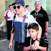 Felipe Massa durfte beim Abschied zu Hause aufs Podium