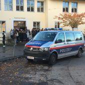 Polizeieinsatz bei Bregenzer Mittelschule