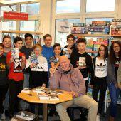 Jugendbuchautor begeisterte Schüler