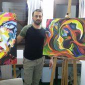 Bashir malt gegen die Angst