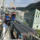 Innovation in 127 Tonnen Glas