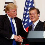 Trump fordert Nordkorea zu einem Deal auf