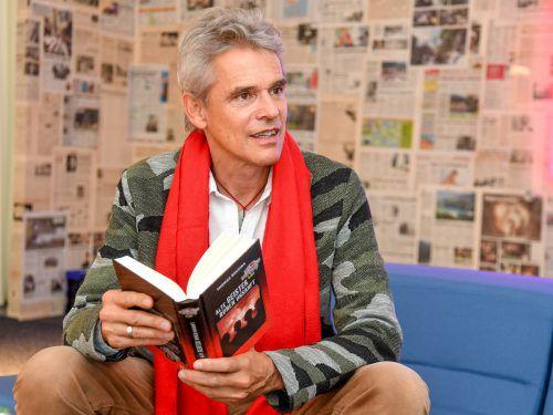Autor Thomas Brezina bietet am 19. Juni um 18 Uhr auch eine Kostprobe aus seinem neuen Knickerbocker-Bande-Buch für Erwachsene, das im Herbst erscheint. VN/Lerch
