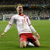 Dänemark feiert WM-Teilnahme und Matchwinner Eriksen