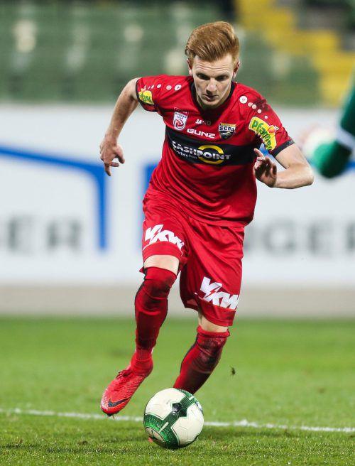 Christian Gebauer ist eine fixe Größe im Spiel der Altacher.gepa