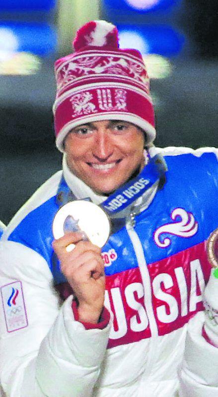 Das Gold von Sotschi ist weg: Langläufer Alexander Legkow. Ap