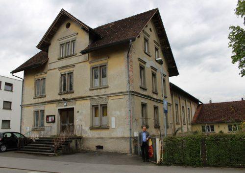 Das Lauteracher Vereinshaus wird für 1,5 Millionen Euro saniert. stp
