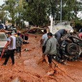 Schwere Regenfälle stürzen Griechenland ins Chaos