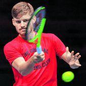 Goffin und Pouille eröffnen Davis Cup