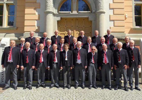 Der Bludenzer Liederkranz ist einer von fünf Chören, die beim Konzert singen werden. STB