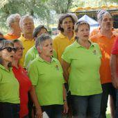 Eintracht-Chor singt am Sonntag