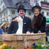 Martinimarkt lockt am Freitag nicht nur  d Lüt im alto Häß