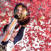 MotoGP-Champion mit Beinahe-Sturz