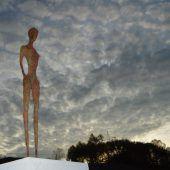 Das Kieswerk als Skulpturenpark