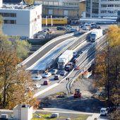 Neue Grenzbrücke ab 1. Dezember