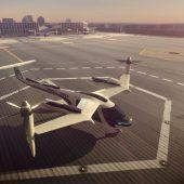 Uber arbeitet mit Nasa an fliegenden Taxis