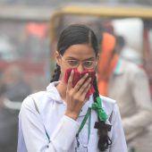 Schulen wegen Smog geschlossen