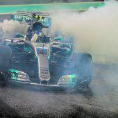 Das finale Gigantenduell blieb aus, Bottas siegte vor Hamilton