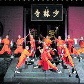 A mi to fo heißt die neue Show der Shaolin Mönche
