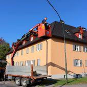 Lochau modernisiert Straßenbeleuchtung