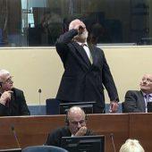 Ex-General vergiftet sich vor UN-Gericht