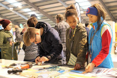 Ein Besucherplus von 25 Prozent konnten die Verantwortlichen der Lehrlingsmesse in Nenzing in diesem Jahr verbuchen. VN/js