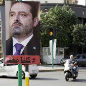 Hariri am Samstag in Paris erwartet