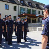 Platzmangel: Teil der Polizeischüler übersiedelt in die Landesfeuerwehrschule. B1