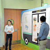 Visionäre Schüler-Ideen fürselbstfahrende Elektrobusse