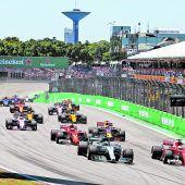 Vettel stoppte mit Sieg den Frust,Aufholjagd von Hamilton