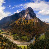 Kletterer stürzt 250 Meter in den Tod