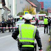 Messerangreifer stirbt durch Polizeikugeln