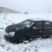 Tückischer Schnee