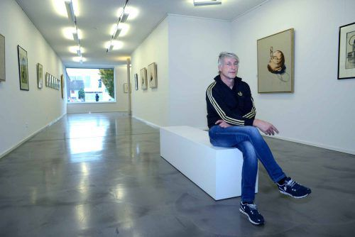 """Zwei außerordentliche Vorarlberger Künstlerpersönlichkeiten werden in der Ausstellung """"Face to Face"""" präsentiert.MARCO SPITZAR"""
