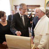 Ein Grüß Gott vom Papst