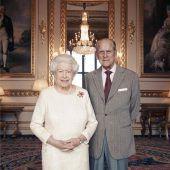 Royals feiern 70. Hochzeitstag. D6