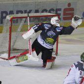 4:1-Sieg von Dornbirn gegen Bozen bei der Premiere von Torhüter Rasmus Rinne. C1