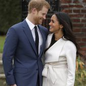 Harry und Meghan heiraten im Mai. C10