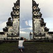 Zehntausende Urlauber sitzen auf Bali fest. Eine Dornbirnerin berichtet. A5