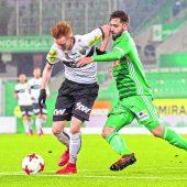 Altach feiert 2:1-Auswärtssieg bei Rapid