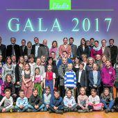 Junge Hoferben im Mittelpunkt der Ländle-Gala 2017